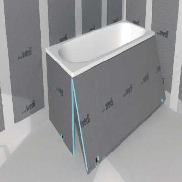 badelement wedi 210x60cm 20mm wedi. Black Bedroom Furniture Sets. Home Design Ideas