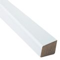 Meranti glaslat wit schuin 17x15mm product photo