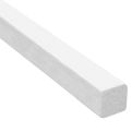 Meranti glaslat wit recht 17x17mm product photo