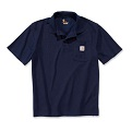 Carhartt polo navy product photo
